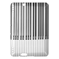 Abstract Piano Keys Background Kindle Fire HDX Hardshell Case