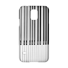 Abstract Piano Keys Background Samsung Galaxy S5 Hardshell Case  by Nexatart