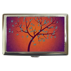Beautiful Tree Background Cigarette Money Cases by Nexatart