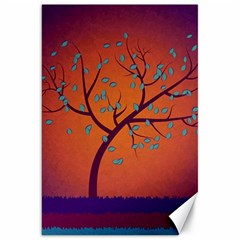 Beautiful Tree Background Canvas 20  X 30   by Nexatart