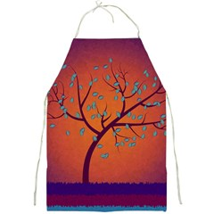 Beautiful Tree Background Full Print Aprons