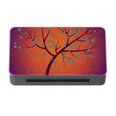 Beautiful Tree Background Memory Card Reader With Cf by Nexatart