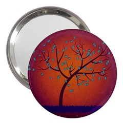 Beautiful Tree Background 3  Handbag Mirrors by Nexatart