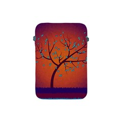 Beautiful Tree Background Apple Ipad Mini Protective Soft Cases by Nexatart