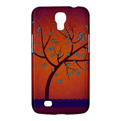 Beautiful Tree Background Samsung Galaxy Mega 6 3  I9200 Hardshell Case by Nexatart