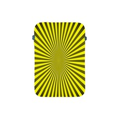 Sunburst Pattern Radial Background Apple Ipad Mini Protective Soft Cases by Nexatart