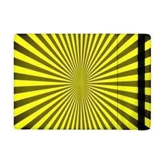 Sunburst Pattern Radial Background Ipad Mini 2 Flip Cases by Nexatart