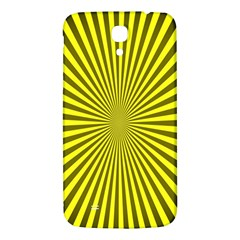 Sunburst Pattern Radial Background Samsung Galaxy Mega I9200 Hardshell Back Case by Nexatart