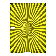 Sunburst Pattern Radial Background Samsung Galaxy Tab S (10 5 ) Hardshell Case  by Nexatart