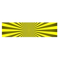 Sunburst Pattern Radial Background Satin Scarf (oblong)
