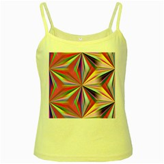 Star A Completely Seamless Tile Able Design Yellow Spaghetti Tank