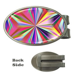 Star A Completely Seamless Tile Able Design Money Clips (oval)