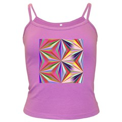 Star A Completely Seamless Tile Able Design Dark Spaghetti Tank