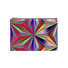 Star A Completely Seamless Tile Able Design Cosmetic Bag (medium)  by Nexatart