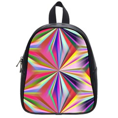 Star A Completely Seamless Tile Able Design School Bags (Small)