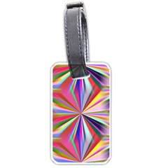 Star A Completely Seamless Tile Able Design Luggage Tags (two Sides)