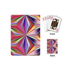 Star A Completely Seamless Tile Able Design Playing Cards (mini)  by Nexatart
