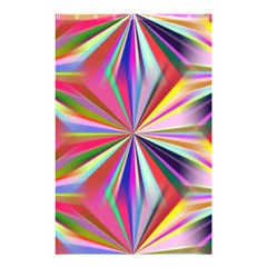 Star A Completely Seamless Tile Able Design Shower Curtain 48  X 72  (small)  by Nexatart