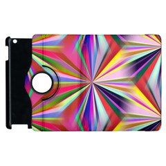 Star A Completely Seamless Tile Able Design Apple Ipad 2 Flip 360 Case by Nexatart