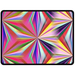 Star A Completely Seamless Tile Able Design Double Sided Fleece Blanket (large)