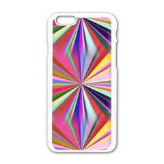 Star A Completely Seamless Tile Able Design Apple Iphone 6/6s White Enamel Case by Nexatart