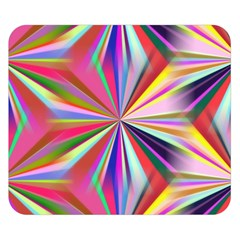 Star A Completely Seamless Tile Able Design Double Sided Flano Blanket (small)