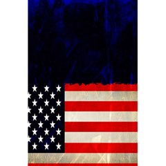 Grunge American Flag Background 5 5  X 8 5  Notebooks by Nexatart