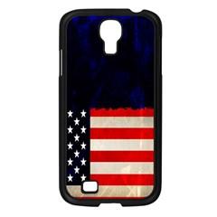 Grunge American Flag Background Samsung Galaxy S4 I9500/ I9505 Case (black) by Nexatart