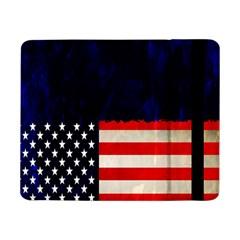 Grunge American Flag Background Samsung Galaxy Tab Pro 8.4  Flip Case