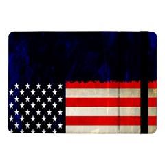 Grunge American Flag Background Samsung Galaxy Tab Pro 10 1  Flip Case
