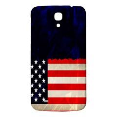 Grunge American Flag Background Samsung Galaxy Mega I9200 Hardshell Back Case by Nexatart