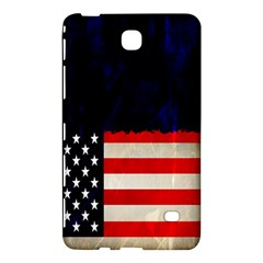 Grunge American Flag Background Samsung Galaxy Tab 4 (8 ) Hardshell Case