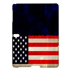Grunge American Flag Background Samsung Galaxy Tab S (10 5 ) Hardshell Case  by Nexatart
