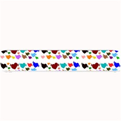 A Creative Colorful Background With Hearts Small Bar Mats by Nexatart