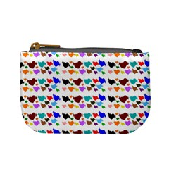 A Creative Colorful Background With Hearts Mini Coin Purses by Nexatart