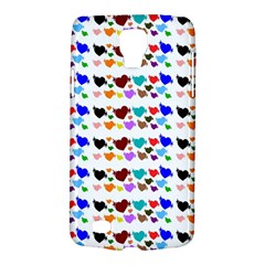 A Creative Colorful Background With Hearts Galaxy S4 Active by Nexatart