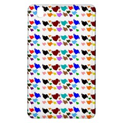 A Creative Colorful Background With Hearts Samsung Galaxy Tab Pro 8 4 Hardshell Case
