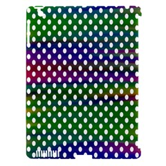 Digital Polka Dots Patterned Background Apple Ipad 3/4 Hardshell Case (compatible With Smart Cover) by Nexatart
