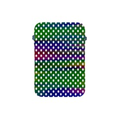 Digital Polka Dots Patterned Background Apple Ipad Mini Protective Soft Cases by Nexatart