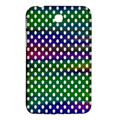 Digital Polka Dots Patterned Background Samsung Galaxy Tab 3 (7 ) P3200 Hardshell Case