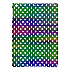Digital Polka Dots Patterned Background Ipad Air Hardshell Cases