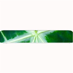 Green Leaf Macro Detail Small Bar Mats by Nexatart