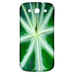 Green Leaf Macro Detail Samsung Galaxy S3 S Iii Classic Hardshell Back Case by Nexatart