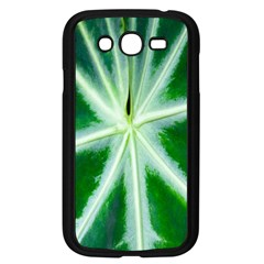 Green Leaf Macro Detail Samsung Galaxy Grand Duos I9082 Case (black) by Nexatart
