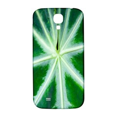 Green Leaf Macro Detail Samsung Galaxy S4 I9500/i9505  Hardshell Back Case