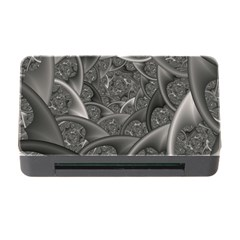 Fractal Black Ribbon Spirals Memory Card Reader With Cf by Nexatart