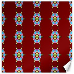 Geometric Seamless Pattern Digital Computer Graphic Canvas 20  X 20   by Nexatart