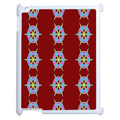 Geometric Seamless Pattern Digital Computer Graphic Apple Ipad 2 Case (white) by Nexatart