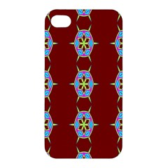 Geometric Seamless Pattern Digital Computer Graphic Apple Iphone 4/4s Hardshell Case by Nexatart