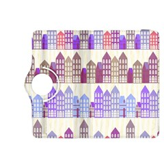 Houses City Pattern Kindle Fire Hdx 8 9  Flip 360 Case